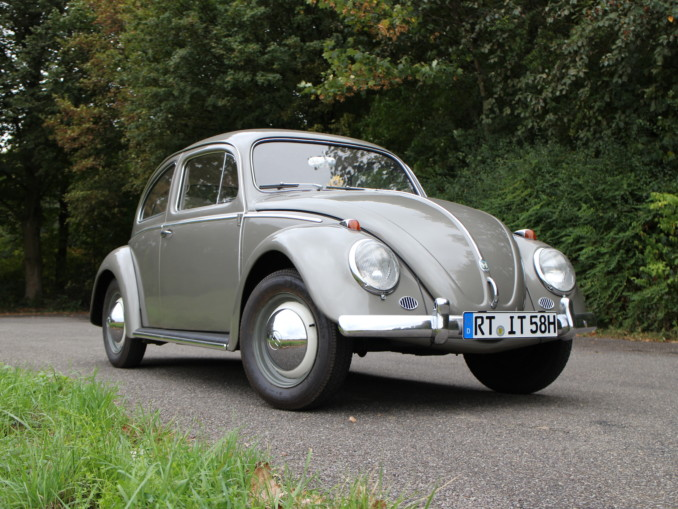 VW Käfer 1958 Diamantgrau