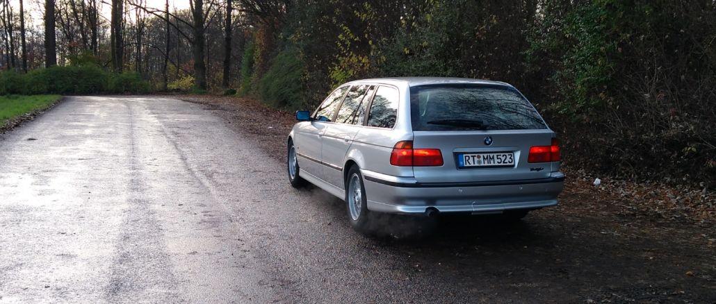 BMW 523i Touring Autodrom Fotoshooting