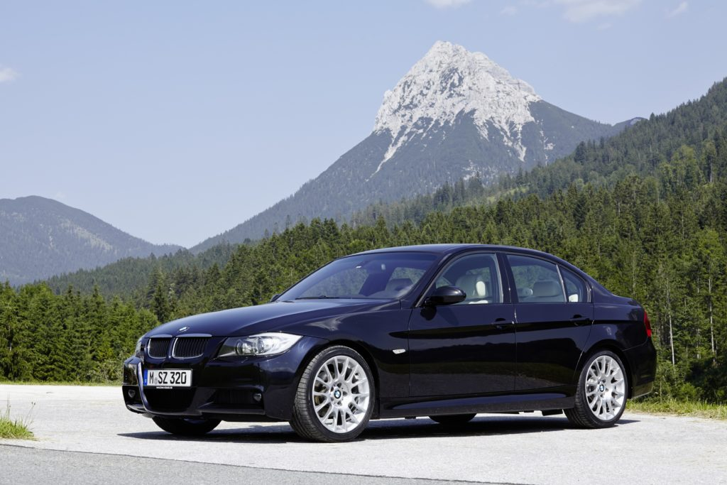 BMW E90 Frontansicht