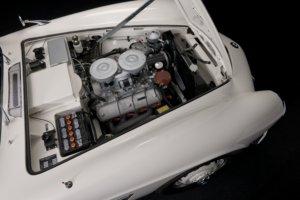 BMW 507 Motorraum