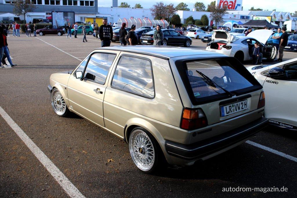 VW Golf 2 Oldtimer BBS