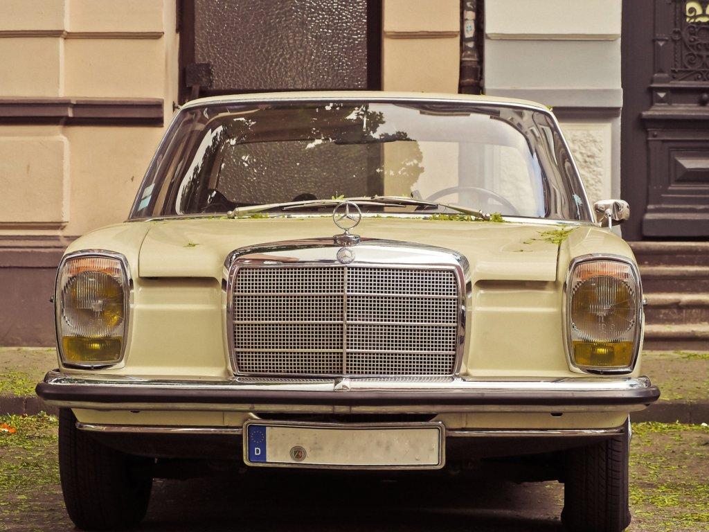 Mercedes Benz Strichachter Oldtimer Youngtimer