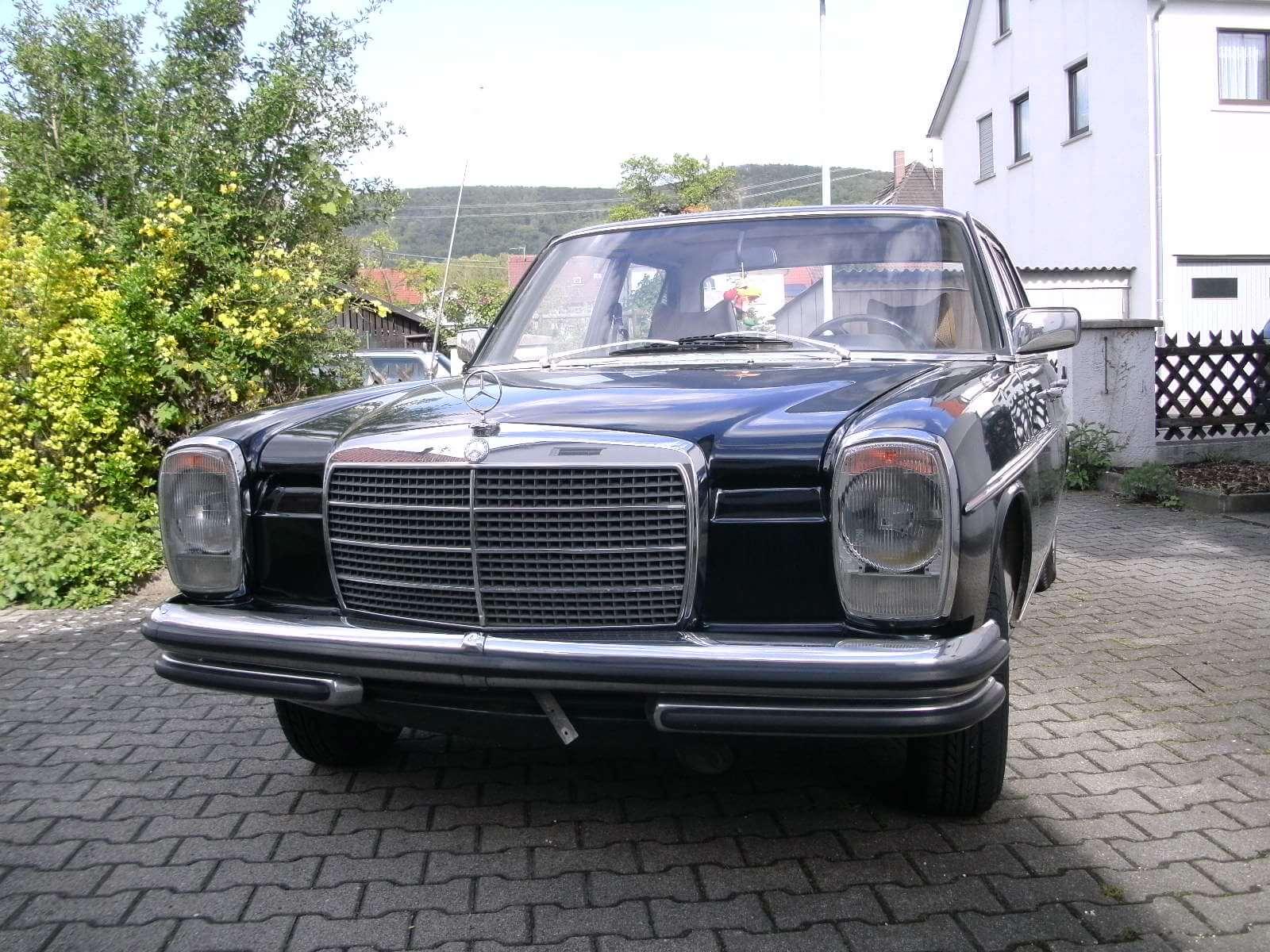 Mercedes Benz Strichachter Front