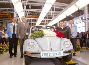 Der letzte VW Käfer