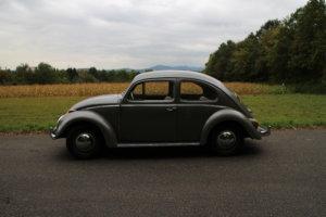 Volkswagen Käfer Diamantgrau Silhouette