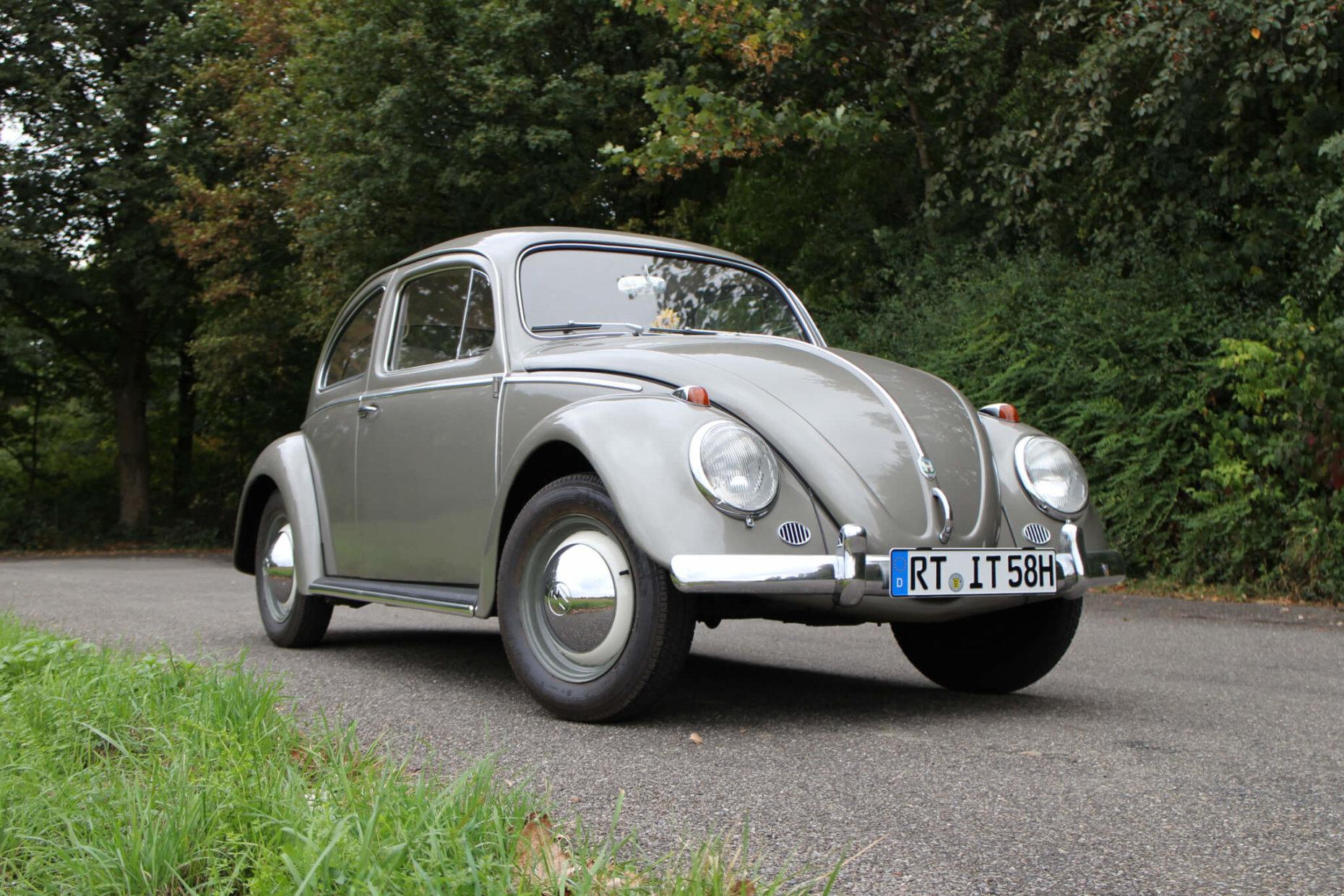 VW Käfer 1958 Diamantgrau