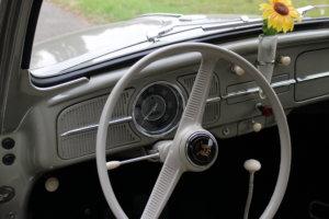 1958 Käfer Cockpit Schaltknauf