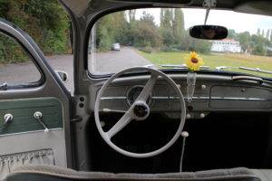 58 VW Käfer Cockpit Export-Modell