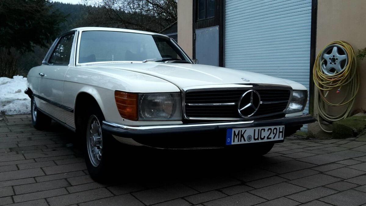 Mercedes Benz SLC Youngtimer Oldtimer
