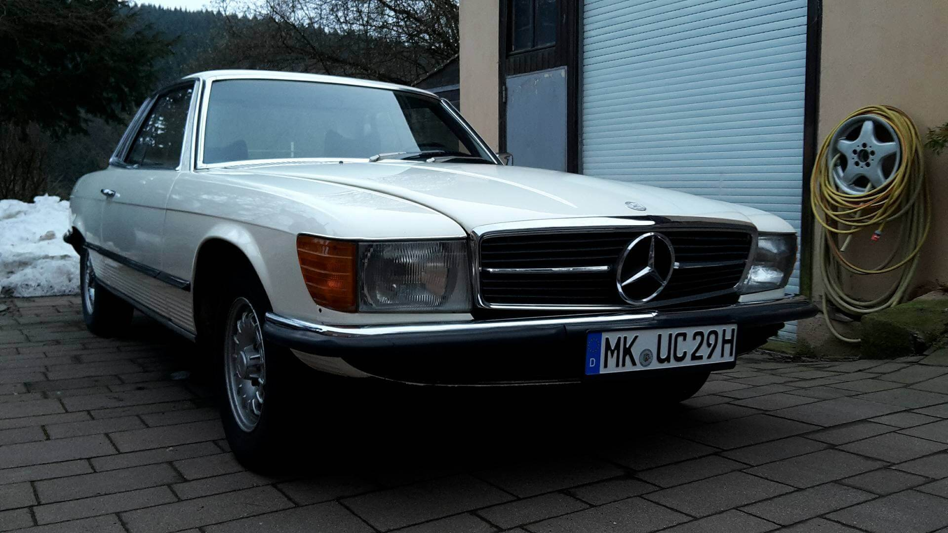 Mercedes Benz SLC Youngtimer Oldtimer