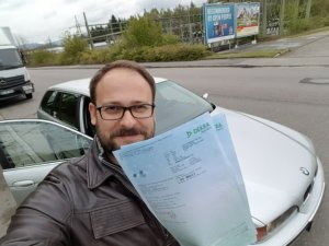 Moschokarfis Chefredakteur AUTODROM TÜV Plakette BMW E39 Touring