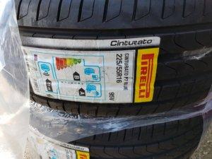 Pirelli P7 Cinturato blue Autodrom Magazin Test