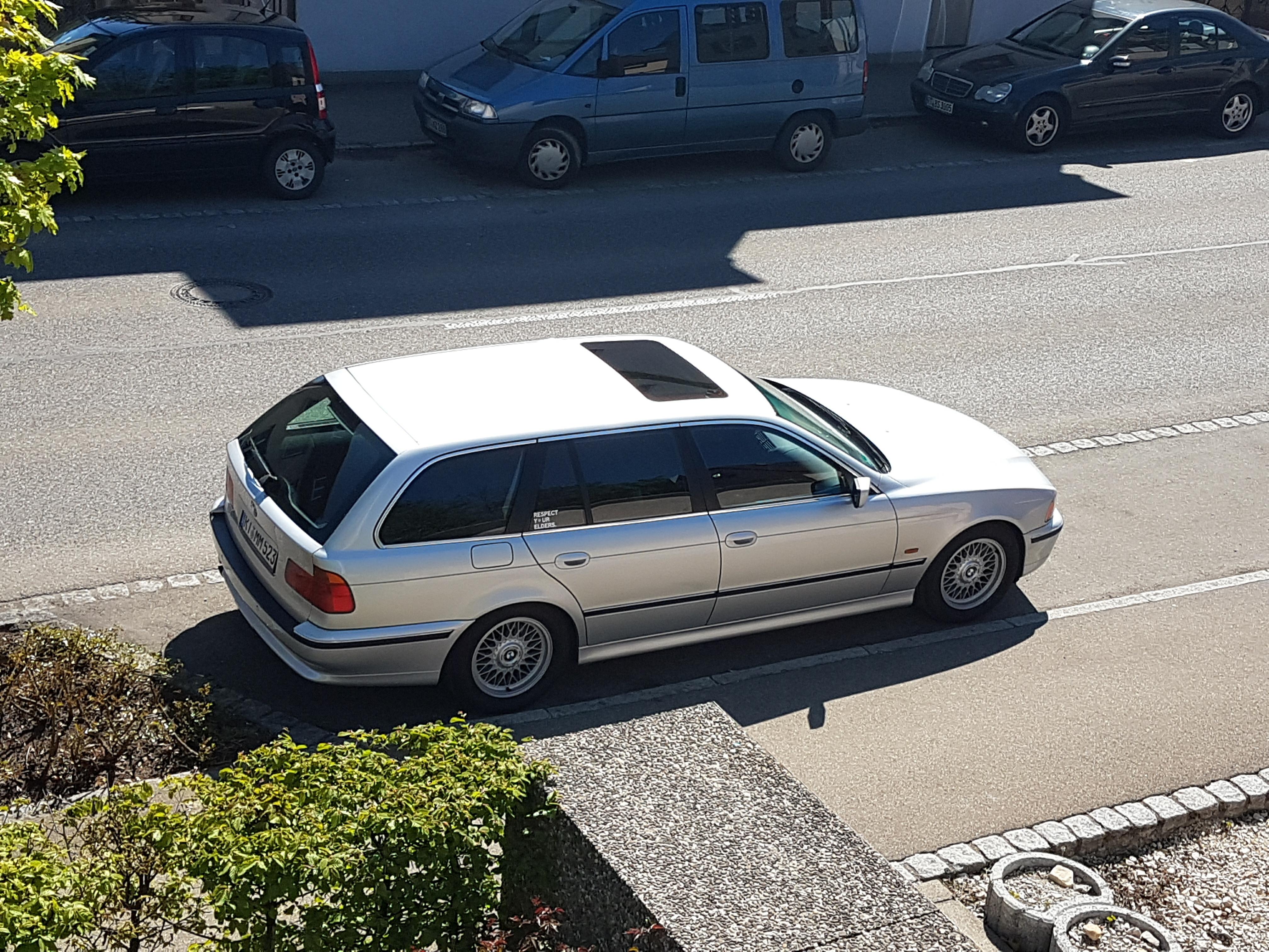 BMW E39 BBS