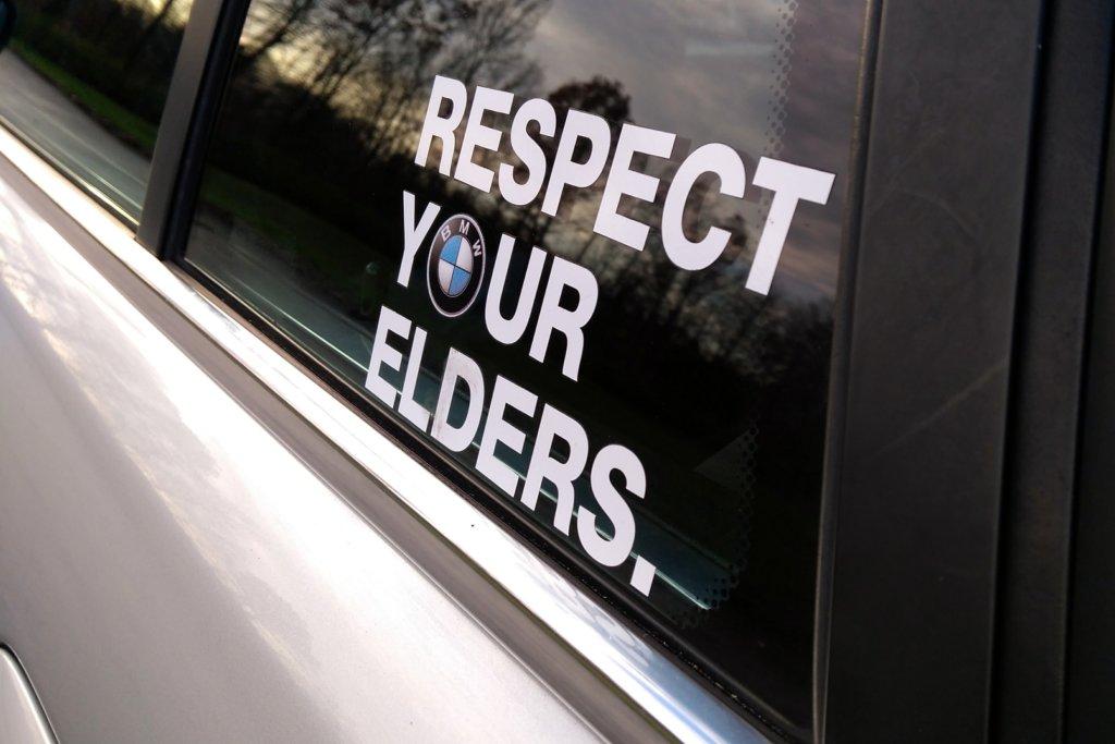 BMW E39 Touring Respect your Elders AUTODROM