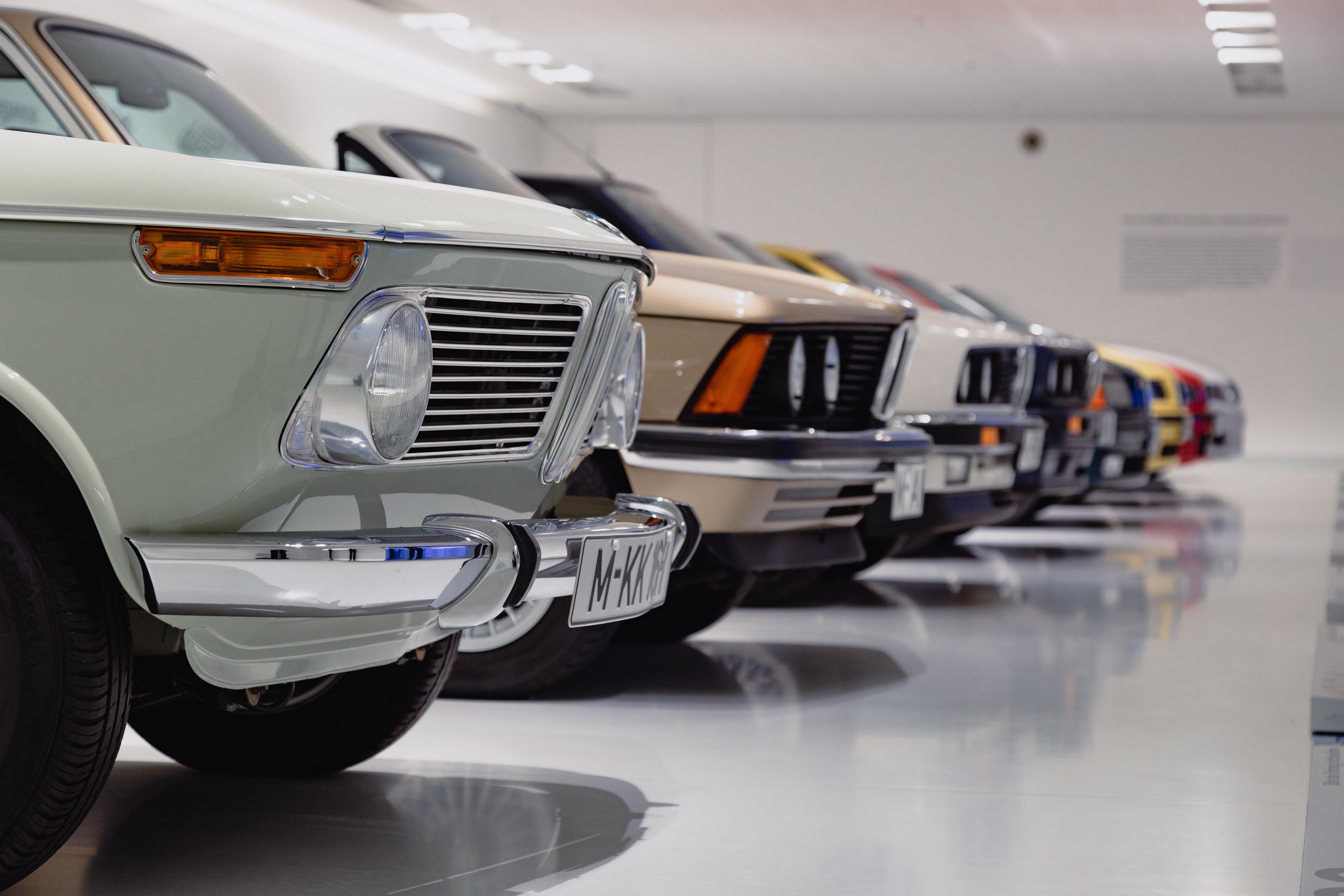 BMW 3er Modelle im BMW Museum München AUTODROM