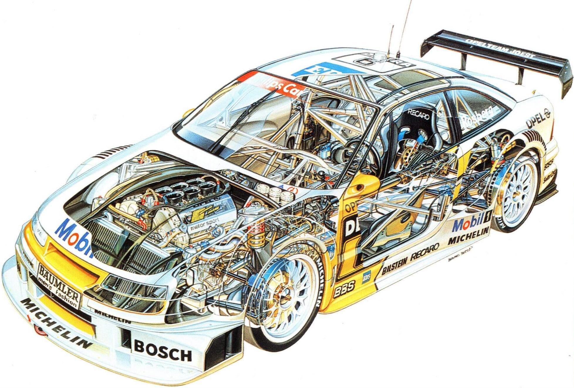 Opel Calibra V6 DTM Edition Sondermodell AUTODROM Moschokarfis