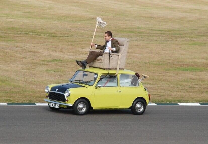 Mr. Bean MINI Cooper Goodwood